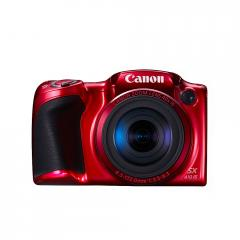Canon PowerShot SX410 IS Red + Canon Soft Case DCC-950 + Transcend 8GB microSDHC (1 adapter - Class