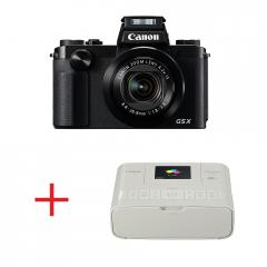 Canon Powershot G5 X + Canon SELPHY CP1200