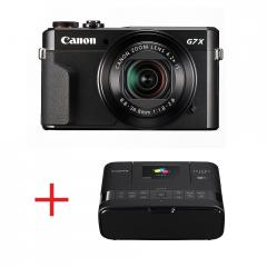 Canon PowerShot G7X Mark II + Canon SELPHY CP1200