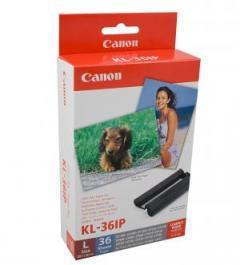 Canon Color Ink/Paper set KL-36IP (L size) 36 sheets