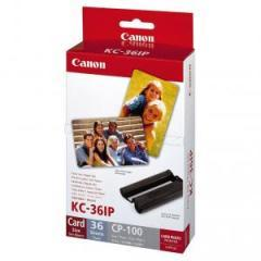 Canon Color Ink/Paper set KC-36IP (Credit card size) 36 sheets