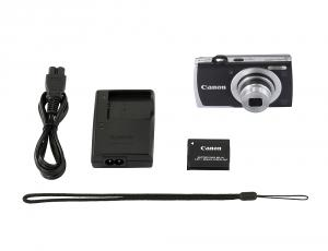 Canon PowerShot A2600 IS Black + Soft case Canon DCC-515 + 4GB Card