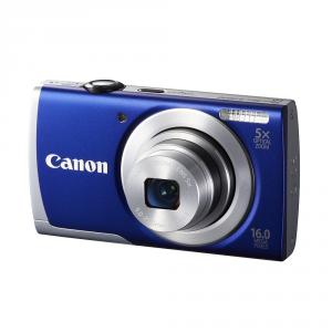Canon PowerShot A2600 IS Blue + Soft case Canon DCC-515 + 4GB Card