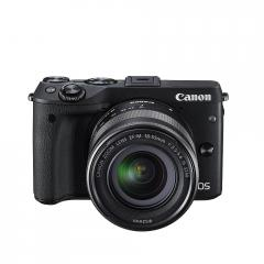 Canon EOS M3 black +  EF-M 18-55mm + Canon Connect Station CS100
