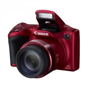 Canon PowerShot SX400 IS Red + Canon Soft Case DCC-950