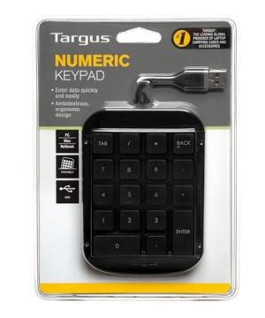 Targus Number Pad USB Port Black