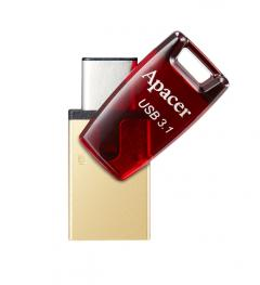 Apacer 32GB AH180 Red - USB 3.1/Type-C Dual Flash Drive