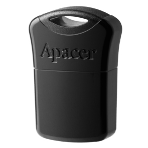 Apacer 8GB Black Flash Drive AH116 Super-mini - USB 2.0 interface