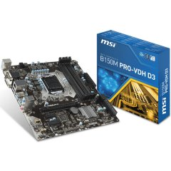 MSI Main Board Desktop B250 (S1151