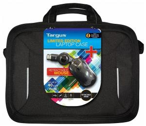 Targus 16 Laptop case and wired mouse