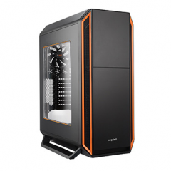 be quiet! SILENT BASE 800 Orange with Window