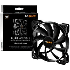 be quiet! Pure Wings 2 140mm 4-pin PWM High-Speed
