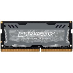 Crucial DRAM 4GB DDR4 2666 MT/s (PC4-21300) CL16 SR x8 Unbuffered SODIMM 260pin Ballistix Sport LT