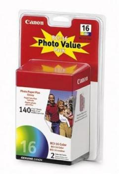 Canon BCI-16 Photo Value Pack