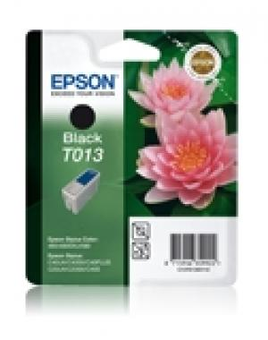 Epson T013 Black Ink Cartridge (Twin Pack) - Retail Pack (untagged) for Stylus C20SX/20UX/40SX/40UX;