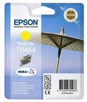 Ink Cartridge EPSON Yellow for Stylus C64/66/66 Photo