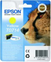 Ink Cartridge EPSON Yellow for Stylus D78/D92/D120/D120 Network Edition