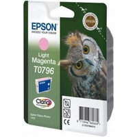 Epson T0796 Light Magenta Ink Cartridge - Retail Pack (untagged) for Stylus Photo 1400