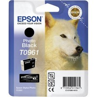 Epson T096 Photo Black Cartridge - Retail Pack (untagged) for Epson Stylus Photo R2880