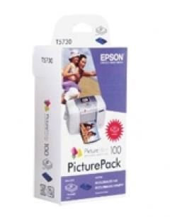 Epson PictureMate 100 PicturePack (Photo Cartridge and Picture Paper)