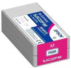 Epson SJIC22P(M): Ink cartridge for ColorWorks C3500 (Magenta)