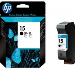 HP 15 Light-use Black Inkjet Print Cartridge