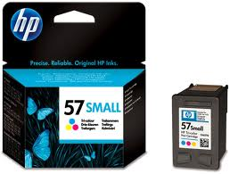 HP 57 Small Tri-color Inkjet Print Cartridge