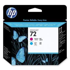HP 72 Magenta and Cyan Printhead