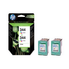 HP 344 2-pack Tri-color Inkjet Print Cartridges