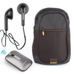Lenovo 15.6 Backpack CB2650 Black + Mouse Wireless N60 Gray + Headset P165 in-ear Black
