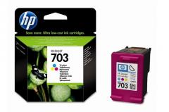 Консуматив HP 703  Standard Original Ink Cartridge; Tri-Color;  Page Yield 250;  HP