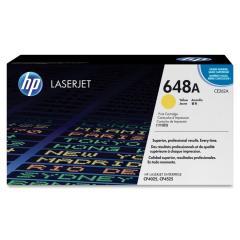 HP 648A Yellow LaserJet Toner Cartridge