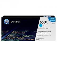 HP 650A Cyan LaserJet Toner Cartridge