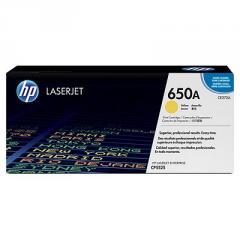 HP 650A Yellow LaserJet Toner Cartridge