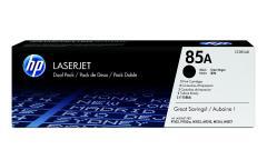 HP 85A Black Dual Pack LaserJet Toner Cartridges
