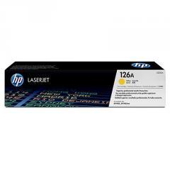 HP 126A Yellow LaserJet Toner Cartridge