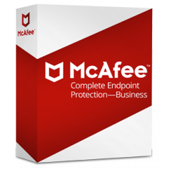 McAfee Complete EndPoint Protection - Business ProtectPLUS Perpetual License with 1yr Business