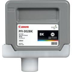 Canon Pigment Ink Tank PFI-302 Photo Black For iPF8100 and iPF9100