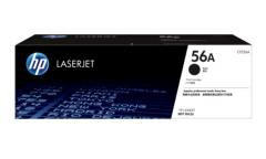 Консуматив HP 56A Black Original LaserJet Toner Cartridge; Black; Page Yield 7