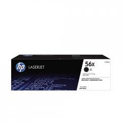 Консуматив HP 56X High Yield Black Original LaserJet Toner Cartridge; Black; Page Yield 13