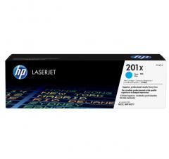 HP 201X High Capacity Cyan Original LaserJet Toner Cartridge (CF401X)