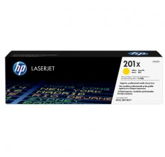 HP 201X High Capacity Yellow Original LaserJet Toner Cartridge (CF402X)