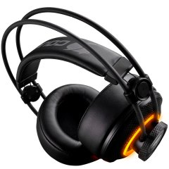 COUGAR HEDSET IMMERSA PRO BLACK RGB 7.1 virtual surround sound