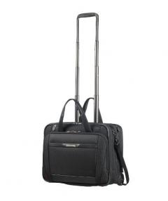 Samsonite Rolling tote on 2 wheels for 15.6 laptop PRO-DLX 5 in Black