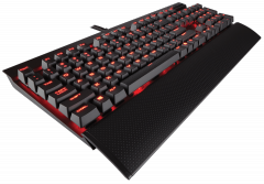 Клавиатура Corsair Gaming™ K70 LUX Mechanical Gaming Keyboard -Red LED -Cherry MX Blue