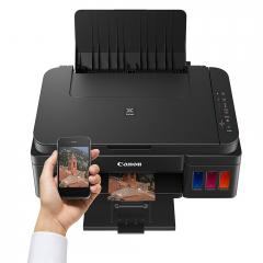 Canon PIXMA G3400 Printer/Scanner/Copier + Canon GI-490 BK