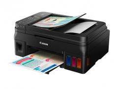 Canon PIXMA G4400 Printer/Scanner/Copier + Canon GI-490 BK