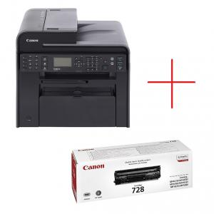 Canon i-SENSYS MF4750 Printer/Scanner/Copier/Fax + Canon CRG728 Toner Cartridge for MF45xx/MF44xx