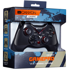 CANYON 2.4G Wireless Controller 4in1 PC/PS3/Android/Xbox360