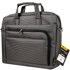Convenient Bag for laptop  15.6 (Grey)